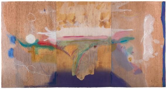 Helen Frankenthaler, Madame Butterfly, 2000 © 2019 Helen Frankenthaler Foundation, Inc./Artists Rights Society (ARS), New York/Tyler Graphics, Ltd., Mount Kisco, New York