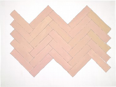 Rachel Whiteread, Pink, 1993 © Rachel Whiteread
