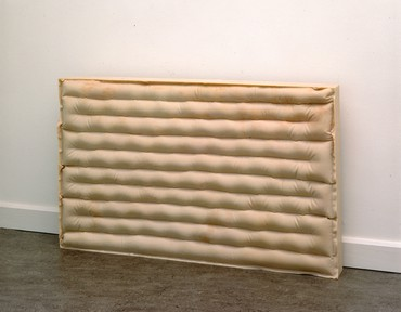 Rachel Whiteread, Untitled (Air Bed II), 1992 © Rachel Whiteread