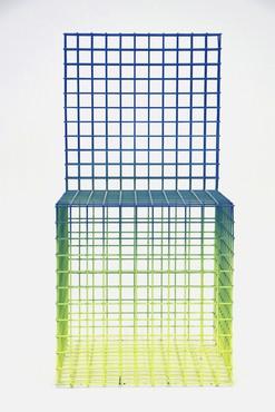 Virgil Abloh, Color Gradient Chairs, 2018 © Virgil Abloh