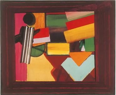 Howard Hodgkin, Talking about Art, 1975 © Howard Hodgkin Estate