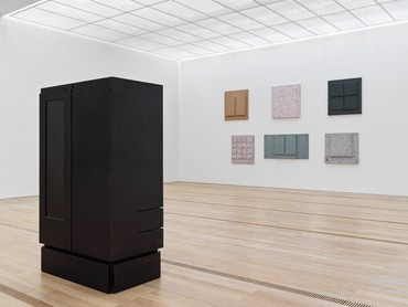 Installation view, Resonating Spaces, Fondation Beyeler, Riehen/Basel, October 6, 2019–January 26, 2020. Artwork © Rachel Whiteread
