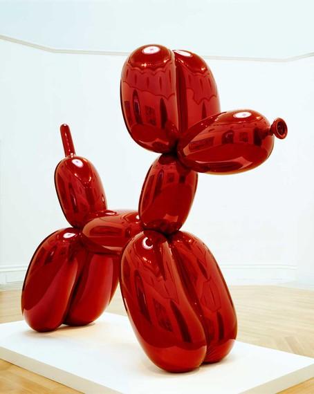 Jeff Koons,Balloon Dog (Red), 1994–2000 © Jeff Koons