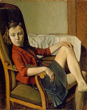 Balthus, Thérèse, 1938 © 2019 Artists Rights Society (ARS), New York
