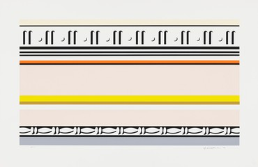 Roy Lichtenstein, Entablature VIII, 1976, Whitney Museum of American Art, New York © Estate of Roy Lichtenstein