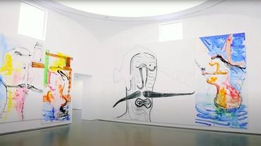 "Still from ""Albert Oehlen: Endless Possibilities of Interpretation"""