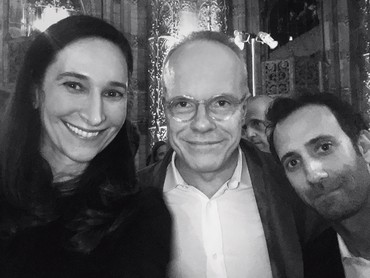 Bettina Korek, Hans Ulrich Obrist, and Alex Israel