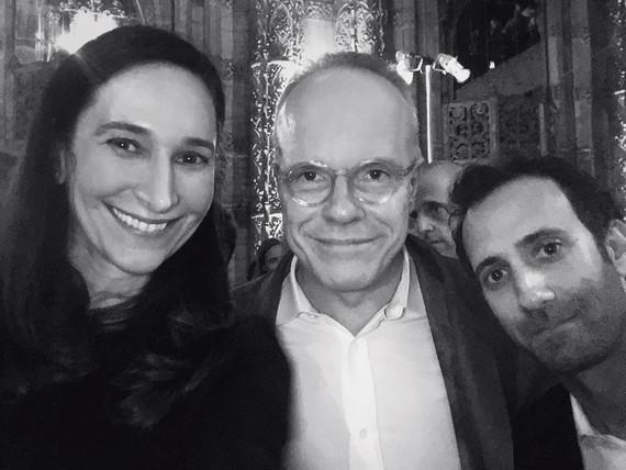 Bettina Korek, Hans Ulrich Obrist, and Alex Israel