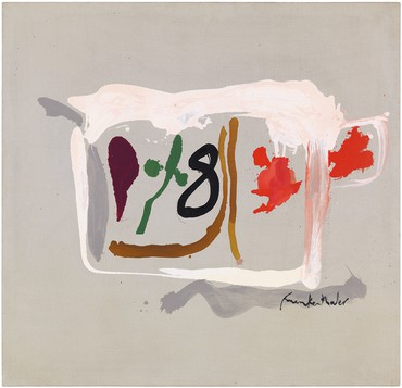 Helen Frankenthaler, Eight in a Square, 1961 © 2019 Helen Frankenthaler Foundation, Inc./Artists Rights Society (ARS), New York