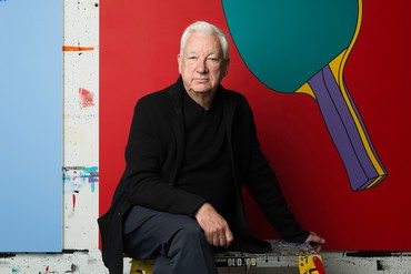 Michael Craig-Martin. Photo: Caroline True