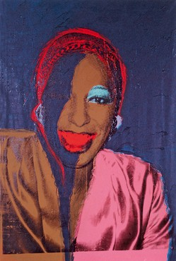 Andy Warhol, Ladies and Gentlemen (Wilhelmina Ross), 1975 © The Andy Warhol Foundation for the Visual Arts, Inc./Artists Rights Society (ARS) New York.