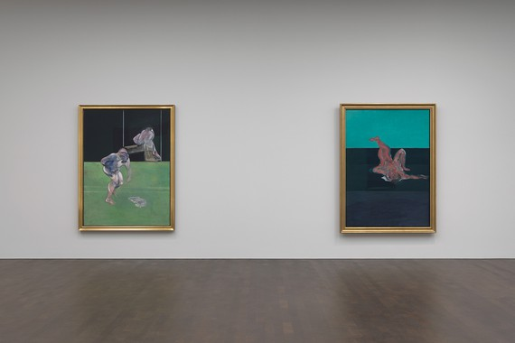 Installation view, Francis Bacon: Couplings, Gagosian, Grosvenor Hill, London, June 6–August 3, 2019. Artwork © The Estate of Francis Bacon. All rights reserved, DACS 2019. Photo: Mike Bruce