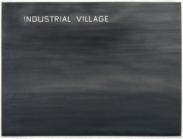 Ed Ruscha, Industrial Village, 1982 © Ed Ruscha