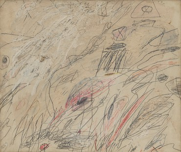 Cy Twombly, Untitled, 1961 © Cy Twombly Foundation