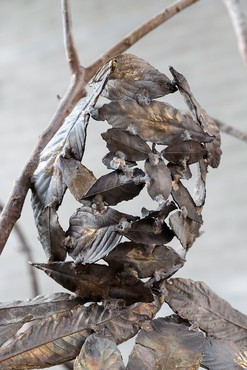 Giuseppe Penone, Pensieri di foglie (Thoughts of Leaves), 2014 (detail) © 2019 Giuseppe Penone/Artists Rights Society (ARS), New York/ADAGP, Paris. Photo: Archivio Penone