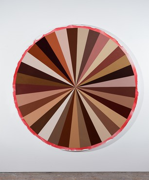 Adriana Varejão, Big Polvo Color Wheel V, 2018 © Adriana Varejão. Photo: Jaime Acioli