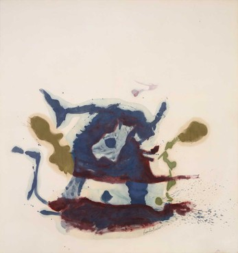 Helen Frankenthaler, Vessel, 1961 © 2019 Helen Frankenthaler Foundation, Inc./Artists Rights Society (ARS), New York