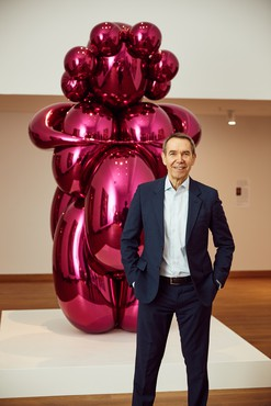 Jeff Koons. Photo: David Fisher