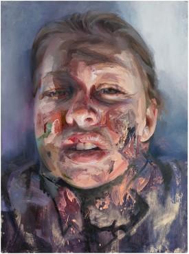 Jenny Saville, Self-Portrait (after Rembrandt), 2019 © Jenny Saville