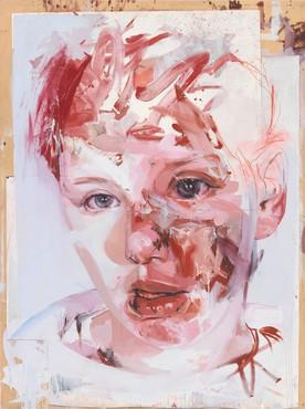 Jenny Saville, Red Stare Collage, 2007–09 © Jenny Saville