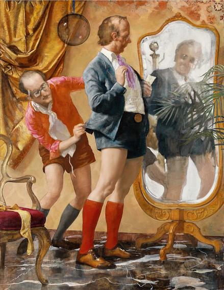 John Currin, Hot Pants, 2010 © JohnCurrin