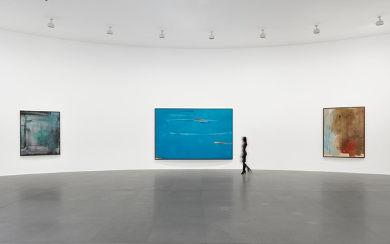 Installation view, Helen Frankenthaler: Sea Change: A Decade of Paintings, 1974–1983, Gagosian, Rome, March 13–July 19, 2019. Artwork © 2019 Helen Frankenthaler Foundation, Inc./Artists Rights Society (ARS), New York. Photo: Matteo D'Eletto, M3 Studio