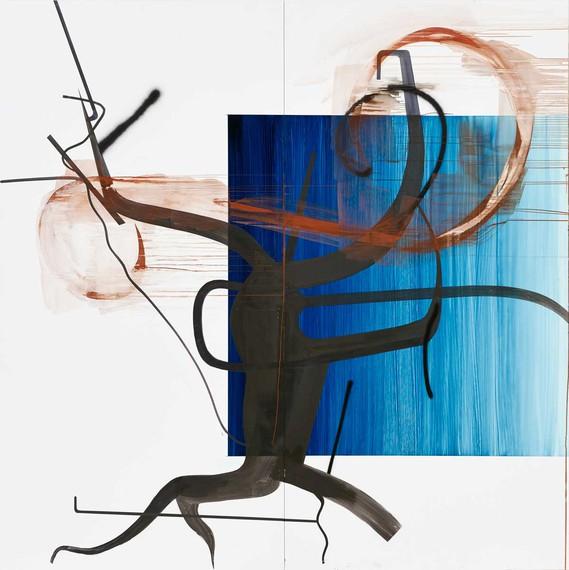Albert Oehlen, Untitled, 2015 © Albert Oehlen/VG Bild-Kunst, Bonn 2019