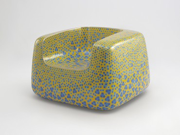 Marc Newson, Cloisonné Yellow Chair, 2017 © Marc Newson
