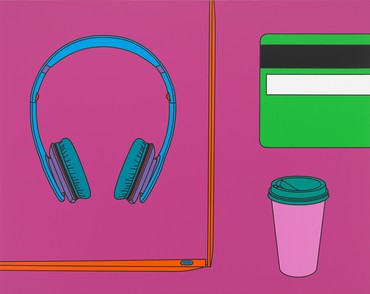 Michael Craig-Martin, Untitled (group I), 2017 © Michael Craig-Martin