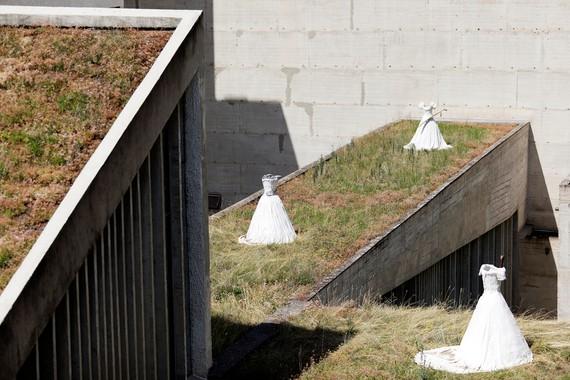 Installation view, Anselm Kiefer à La Tourette, Couvent de La Tourette, Éveux, France, September 24–December 22, 2019. Artwork © Anselm Kiefer. Photo: Jean-Philipe Simard
