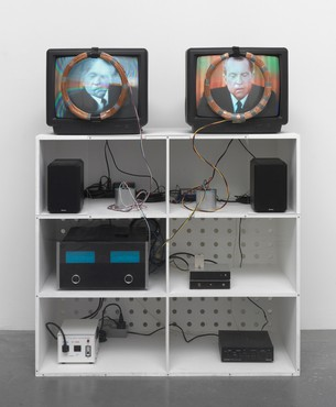 Nam June Paik, Nixon, 1965–2002 © Nam June Paik Estate