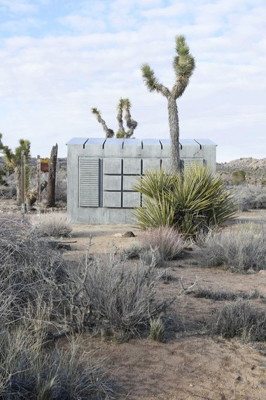 Rachel Whiteread, Shack I, 2014, permanent installation near Joshua Tree National Park, California © Rachel Whiteread