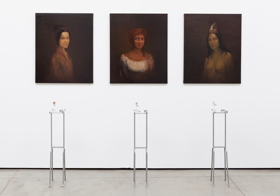 Adriana Varejão, Testemunhas oculares X, Y e Z, 1997 © Adriana Varejão. Photo: Eduardo Ortega
