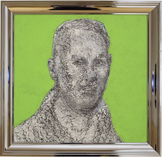 Richard Artschwager, Self-Portrait, 2003 © 2019 Richard Artschwager/Artists Rights Society (ARS), New York