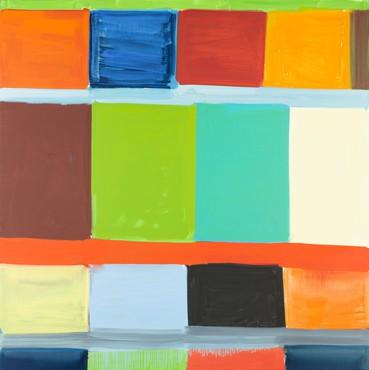 Stanley Whitney, Off Square, 2016, Moderna Museet, Stockholm © Stanley Whitney