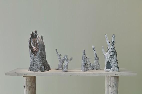 Installation view, Setsuko: Into the Trees, Gagosian, Paris, April 11–June 1, 2019. Artwork © Setsuko. Photo: Thomas Lannes