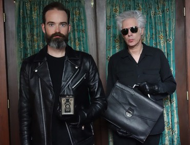 SQÜRL (Carter Logan and Jim Jarmusch). Photo: Sara Driver