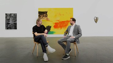 Still of Sterling Ruby in conversation with Sam Orlofsky