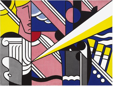 Roy Lichtenstein, Modern Painting with Ionic Column, 1967 © Estate of Roy Lichtenstein