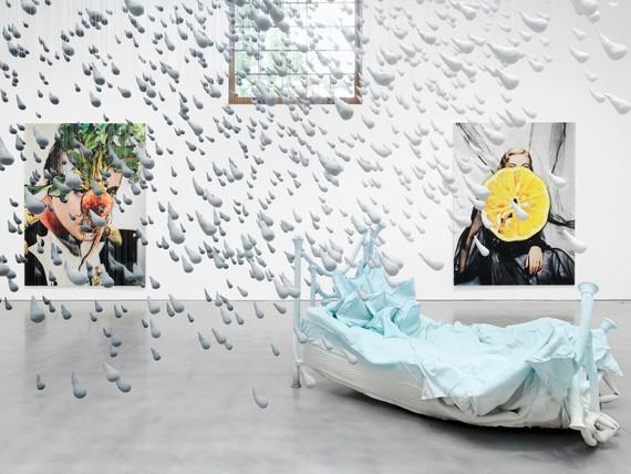 Installation view, Urs Fischer: Errors, Brant Foundation, Greenwich, Connecticut, May 13–October 1, 2019 © Urs Fischer. Photo: Stefan Altenburger