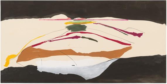 Helen Frankenthaler, New Paths, 1973, collection of Helen Frankenthaler Foundation, New York© 2019 Helen Frankenthaler Foundation, Inc./Artists Rights Society (ARS), New York