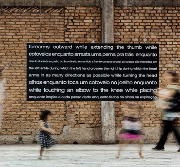 William Forsythe, Unsustainables, 2019 (detail), installation view, SESC Pompéia, São Paulo© William Forsythe. Photo: Ricardo Ferreira