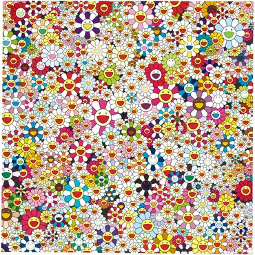 Takashi Murakami, Open Your Hands Wide, Embrace Happiness!, 2010 © 2010 Takashi Murakami/Kaikai Kiki Co., Ltd. All rights reserved