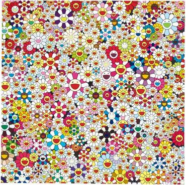 Takashi Murakami, Open Your Hands Wide, Embrace Happiness!, 2010 © 2010 Takashi Murakami/Kaikai Kiki Co., Ltd. All rights reserved