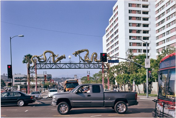 Ed Ruscha, Cesar Chavez and North Broadway, 2007, Streets of Los Angeles Archive, Getty Research Institute © Ed Ruscha