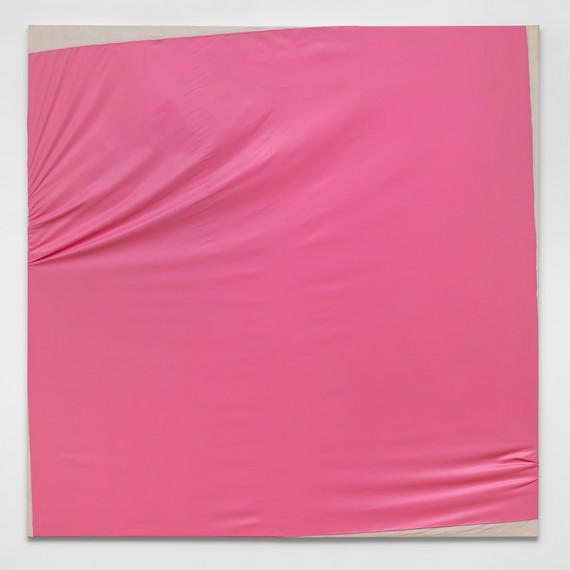 Steven Parrino, Candy Stevens (Pink Disaster), 1988, Kunstmuseum Liechtenstein, Vaduz © Steven Parrino