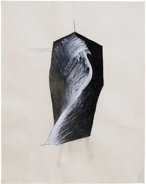 Jay DeFeo, Figure V (Tripod series), 1976 © 2020 The Jay DeFeo Foundation/Artists Rights Society (ARS), New York. Photo: Robert Divers Herrick