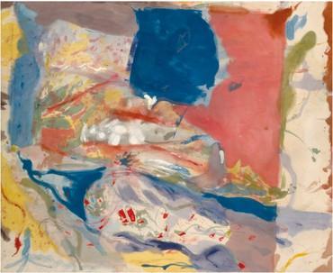 Helen Frankenthaler, Lorelei, 1957, Brooklyn Museum, New York © 2020 Helen Frankenthaler Foundation, Inc./Artists Rights Society (ARS), New York