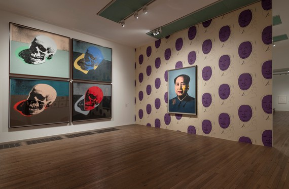 Installation view, Andy Warhol, Tate Modern, London, July 27–November 15, 2020. Artwork © 2020 The Andy Warhol Foundation for the Visual Arts, Inc./Licensed by DACS, London. Photo: Andrew Dunkley