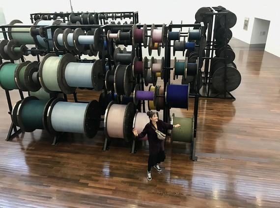 Tatiana Trouvé, Desire Lines, 2015, installation view, Musée d'art contemporain du Val-de-Marne, Vitry-sur-Seine, France © Tatiana Trouvé, ADAGP Paris 2020. Photo: © MAC VAL